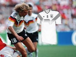 Das neue Nationaltrikot soll an die WM 1990 erinnern