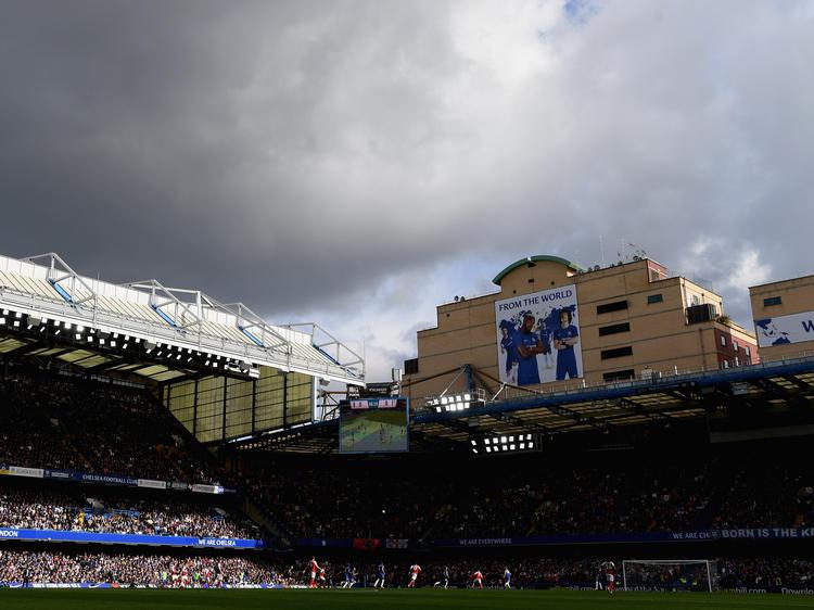 Imagen de Stamford Bridge en un derbi contra el Arsenal. (Foto: Getty)