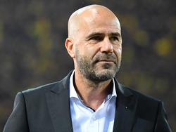 Dortmunds Trainer Peter Bosz wartet auf ein Erfolgserlebnis