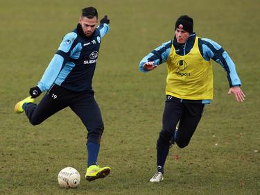 Daniel Engelbrecht (l.) wechselt bis Saisonende nach Aachen