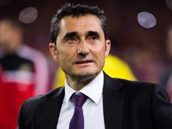 Ernesto Valverde tras perder la final de Copa ante el Barcelona (Foto: Getty)