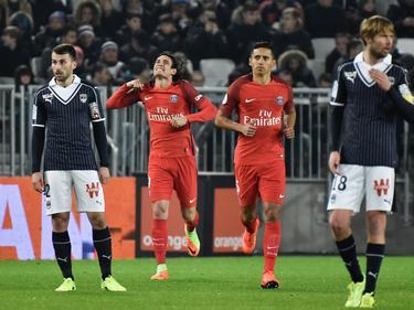 Cavani ya suma 25 dianas en la Ligue 1 esta temporada. (Foto: Getty)