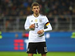 Bayern-Profi Thomas Müller ist von der Perspektive im deutschen Fußball beeindruckt