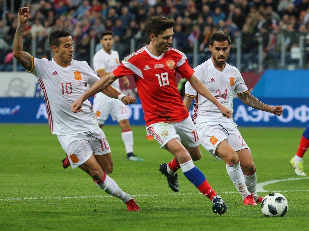 Die Russen haben sich gegen Spanien achtbar aus der Affäre gezogen