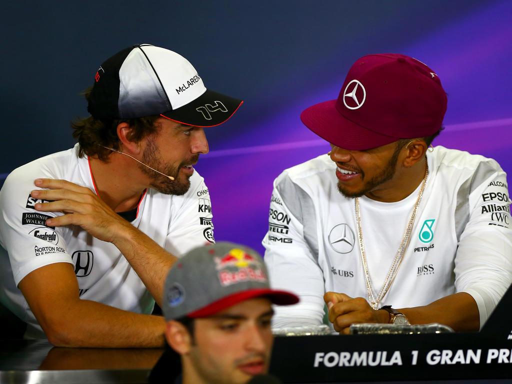 Fernando Alonso und Lewis Hamilton haben wieder ein gutes Verhältnis