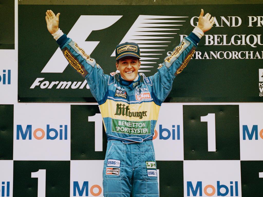 Ein gutes Pflaster: Michael Schumacher in Spa 1995
