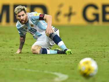 Lionel Messi muss mit der Nationalelf Argentiniens um die WM-Teilnahme bangen