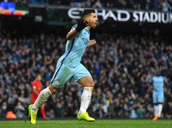 Agüero salvó un punto para el City ante el Liverpool. (Foto: Getty)