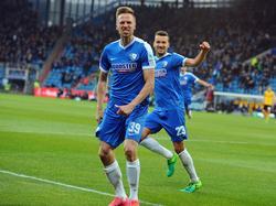 Marco Stiepermann sorgte für den VfL-Ausgleich gegen Dynamo Dresden