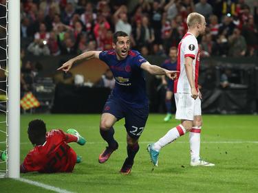 Henrikh Mkhitaryan ist glücklich in Manchester