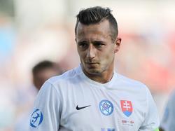 Adam Zreľáki war bei der U21-EM Kapitän der Slowaken