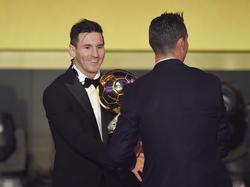 Lionel Messi und Cristiano Ronaldo - ewige Konkurrenten um den Titel des Weltfußballers