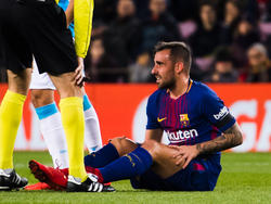 Paco Alcácer wird dem FC Barcelona im Spiel gegen Real Madrid fehlen