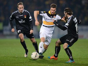 Quirin Moll (M.) spielt in der nächsten Saison für Eintracht Braunschweig