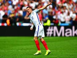Jamie Vardy en la pasada EURO de Francia (Foto: Getty)