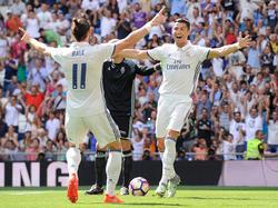 Gareth Bale und Cristiano Ronaldo sind an Bord