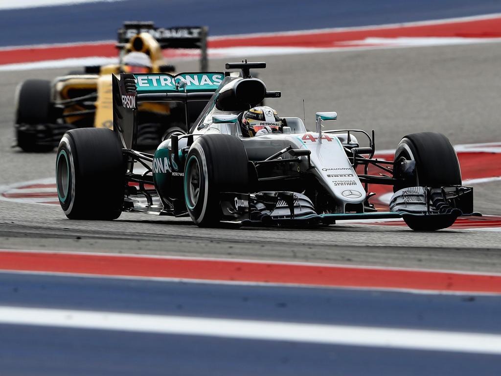 Hamilton fuhr von der Pole ins Ziel