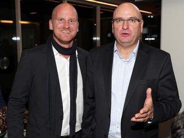 Bundesliga-Vorstand Christian Ebenbauer und Präsident Hans Rinner glauben an die Reform