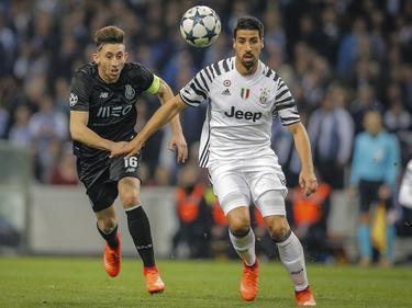 Sami Khedira und Juventus Turin stehen mit eineinhalb Beinen im Viertelfinale