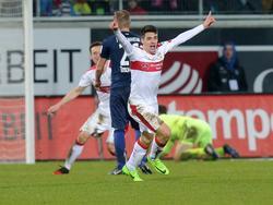 Josip Brekalo hat den VfB Stuttgart in Heidenheim zum Sieg geschossen