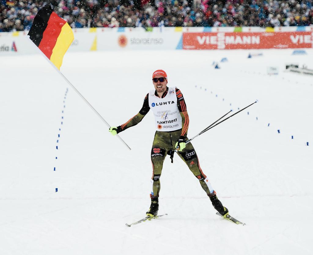 Platz 1: Johannes Rydzek (Nordische Kombination)