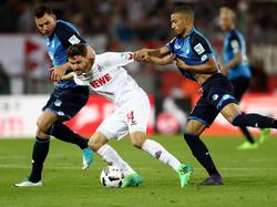 Die TSG Hoffenheim erkämpfte sich einen Punkt in Köln