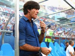 Joachim Löw blickt auf 100 Länderspiele als Bundestrainer zurück