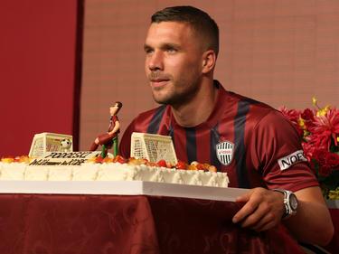 Lukas Podolski hat sich ein wenig über Gladbach amüsiert