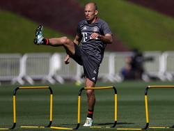 Arjen Robben bringt sich in München in Form