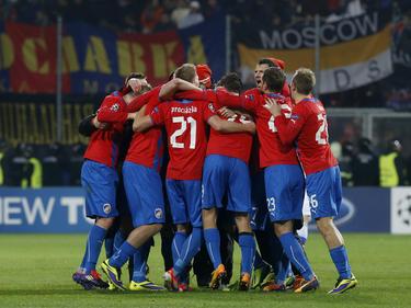 El Viktoria Plzeň en Champions en el 2013. (Foto: Getty)
