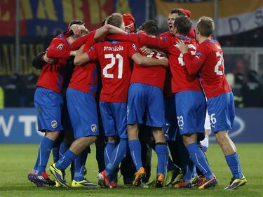 Campeón en 2010/2011 y 2012/2013, el Viktoria Pilsen logra la tercera liga de su historia. (Foto: Getty)