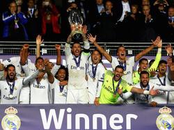 Kann Real Madrid am Ende der Saison 2016/2017 wieder einen Titel feiern?