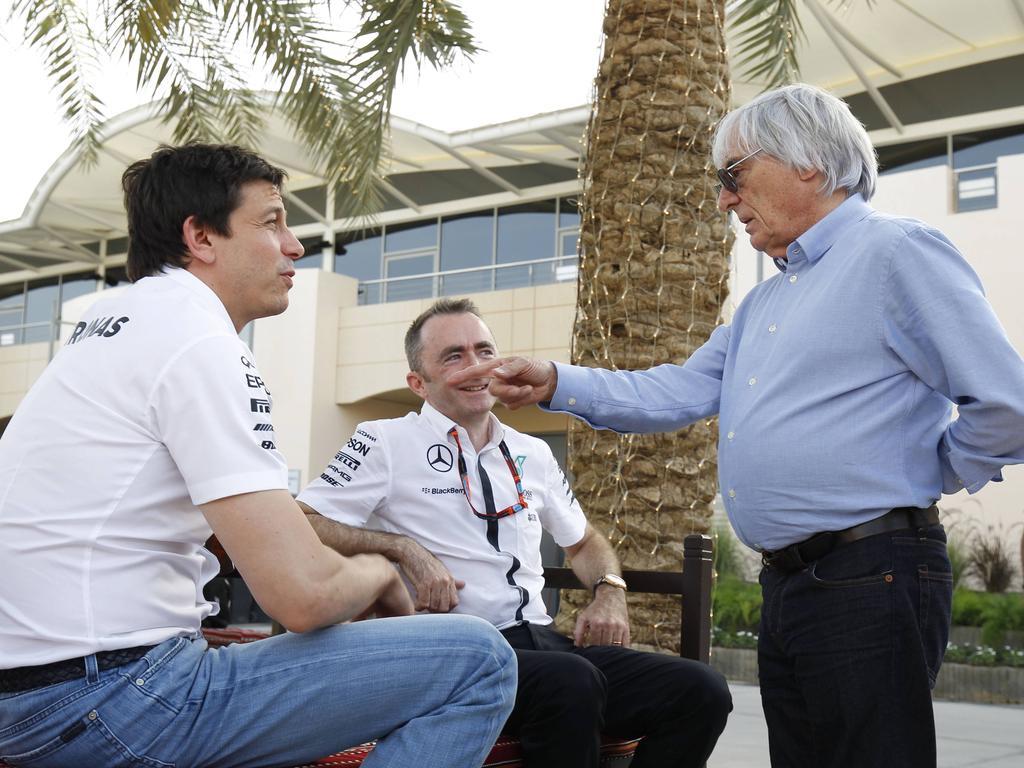 Bernie Ecclestone zweifelt an Toto Wolffs motorsportlichen Absichten