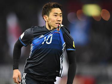 Shinji Kagawa hat das 1:0 für Japan erzielt