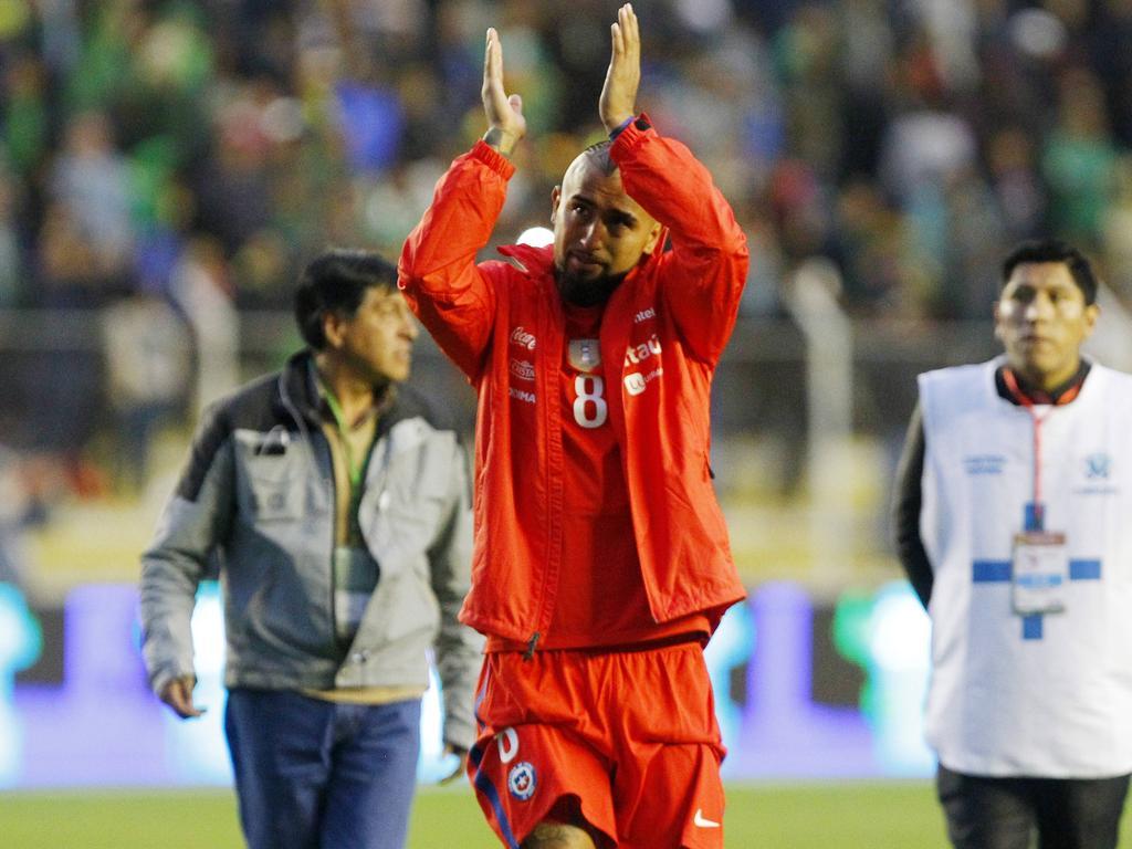 Bald nicht mehr für sein Heimatland im Einsatz: Arturo Vidal