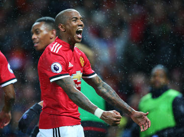 Ashley Young erzielte den Siegtreffer für Manchester United