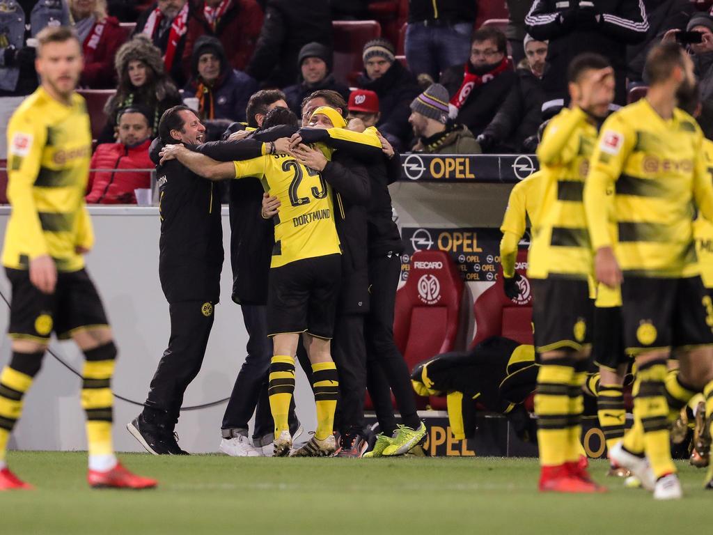 Borussia Dortmund kann endlich wieder jubeln