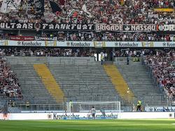 Schon gegen Schalke blieb ein Teilbereich des Stadions leer