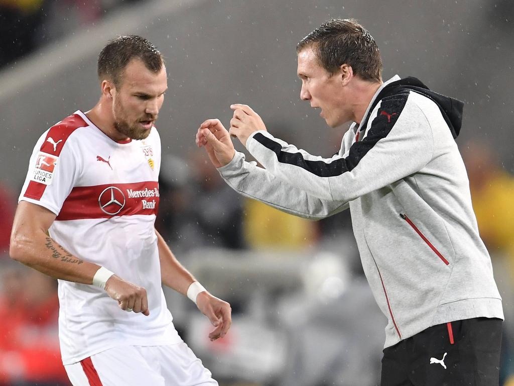 Hannes Wolf (r.) und Kevin Großkreutz haben Dortmunder Vergangenheit