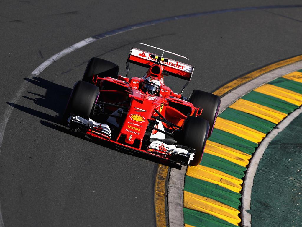 Kimi Räikkönen lässt sich vom mauen Auftakt nicht verrückt machen