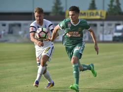 Albin Gashi wechselt als Kooperationsspieler vom SK Rapid zum FAC
