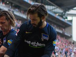 Marvin Plattenhart musste mit Hertha BSC die nächste Niederlage hinnehmen