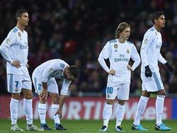 Das Starensemble von Real Madrid kam in Bilbao nicht über ein 0:0 hinaus