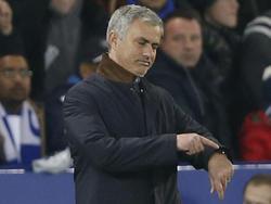 Mourinho es claro aspirante al banquillo del Manchester United. (Foto: Getty)