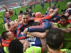 CSKA Moskau ist russischer Meister