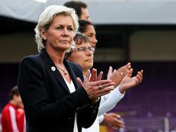 Silvia Neid arbeitet auf ihr letztes Turnier als Bundestrainerin hin