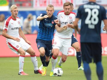 Der FC Heidenheim gewann am Ende mit 2:0 gegen Fortuna Düsseldorf