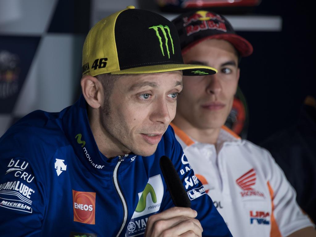 MotoGP-Star Valentino Rossi nach Motocross-Unfall im Krankenhaus