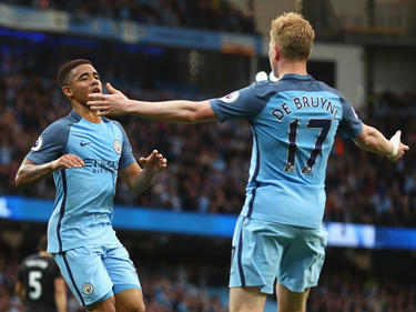 Jubel bei Manchester City