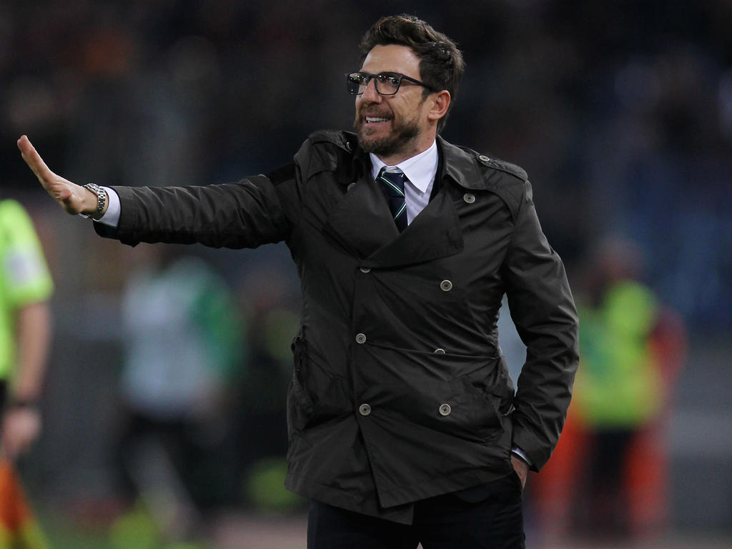 AS Rom verpflichtet Trainer Di Francesco